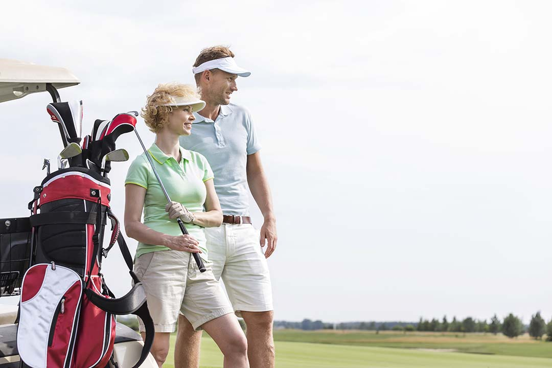How many golf clubs can you carry in your bag?