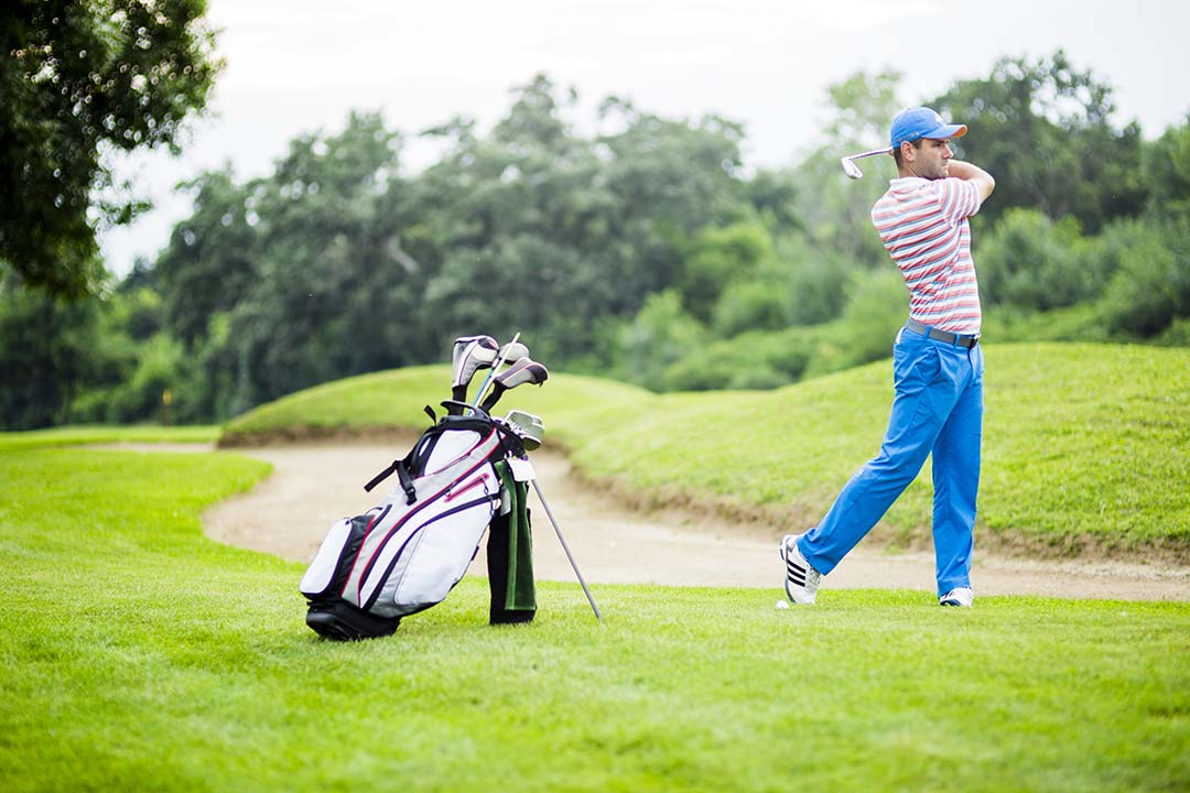 Can Golf Stand Bags Used Trolleys